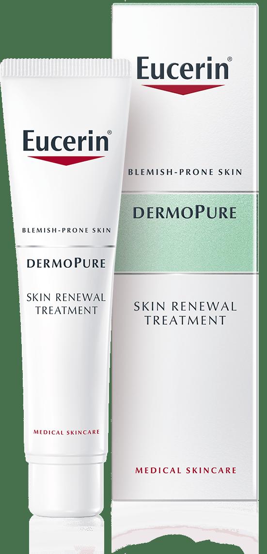 dermopure skin renewal treatment for blemish prone skin eucerin