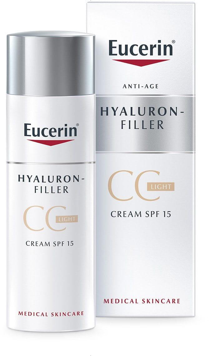 hyaluron filler cc cream spf15 light eucerin. Black Bedroom Furniture Sets. Home Design Ideas
