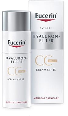 Anti-aging CC cream to even pale skin tones