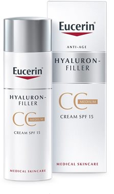 hyaluron filler cc cream spf15 medium eucerin. Black Bedroom Furniture Sets. Home Design Ideas