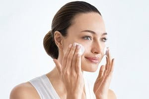 Cleanse before applying pigmentation cream