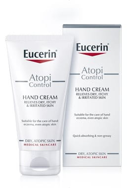 Cream for eczema hands
