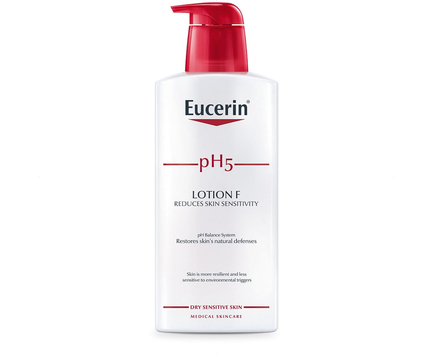 ph5 lotion f rich body lotion for dry sensitive skin eucerin. Black Bedroom Furniture Sets. Home Design Ideas