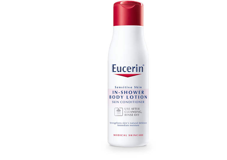 Eucerin In Shower Body Lotion For Sensitive And