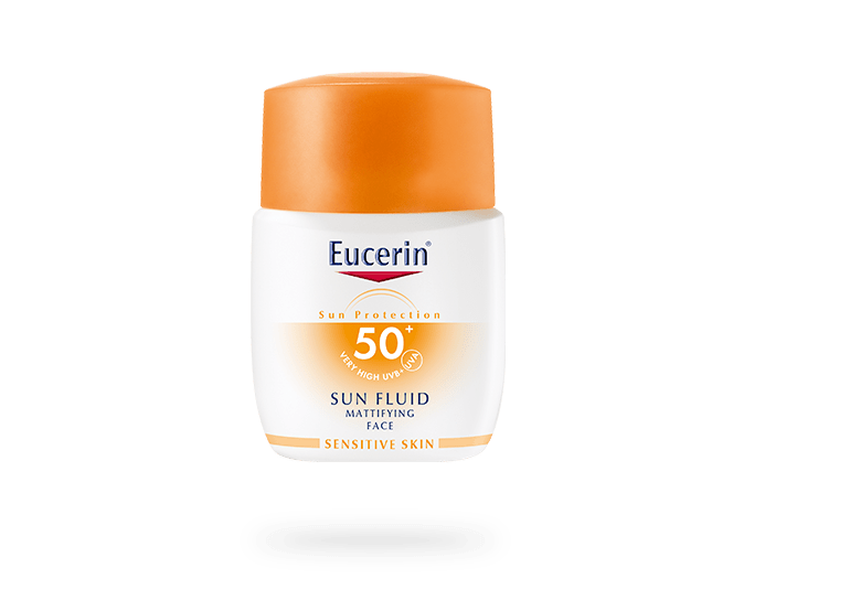 eucerin sun protection sun fluid mattifying spf 50. Black Bedroom Furniture Sets. Home Design Ideas