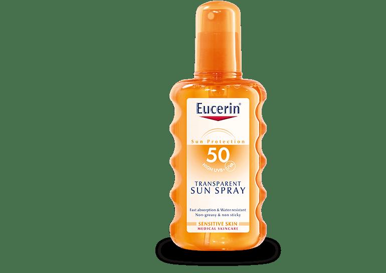Eucerin SUN transparent sprej SPF50 200ml šifra:63907-1