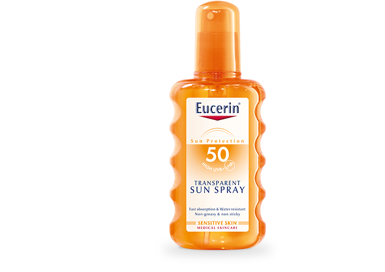 Eucerin SUN sprej SPF50