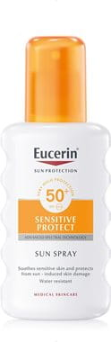 Eucerin sunscreen spray for sensitive skin