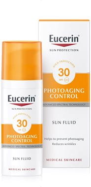 Eucerin sunscreen with Hyaluronic Acid