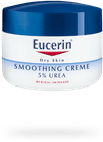 Eucerin Smoothing Creme 5% Urea plus Carnitine for dry patches of skin
