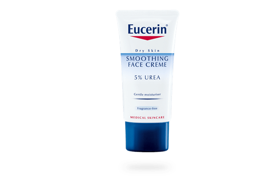 Eucerin Smoothing Face Creme 5% Urea for dry to very skin