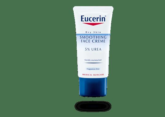 eucerin urea smoothing face creme 5 urea dry skin. Black Bedroom Furniture Sets. Home Design Ideas
