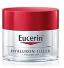Cream texture of Eucerin Volume-Filler Day Care dry skin