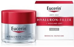 Cream texture of Eucerin Volume-Filler Night Care