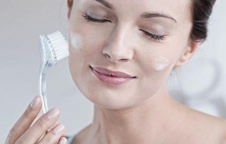 Treatment for dry facial sky