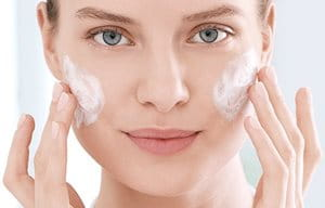 3.  The third step in an acne skincare routine: care