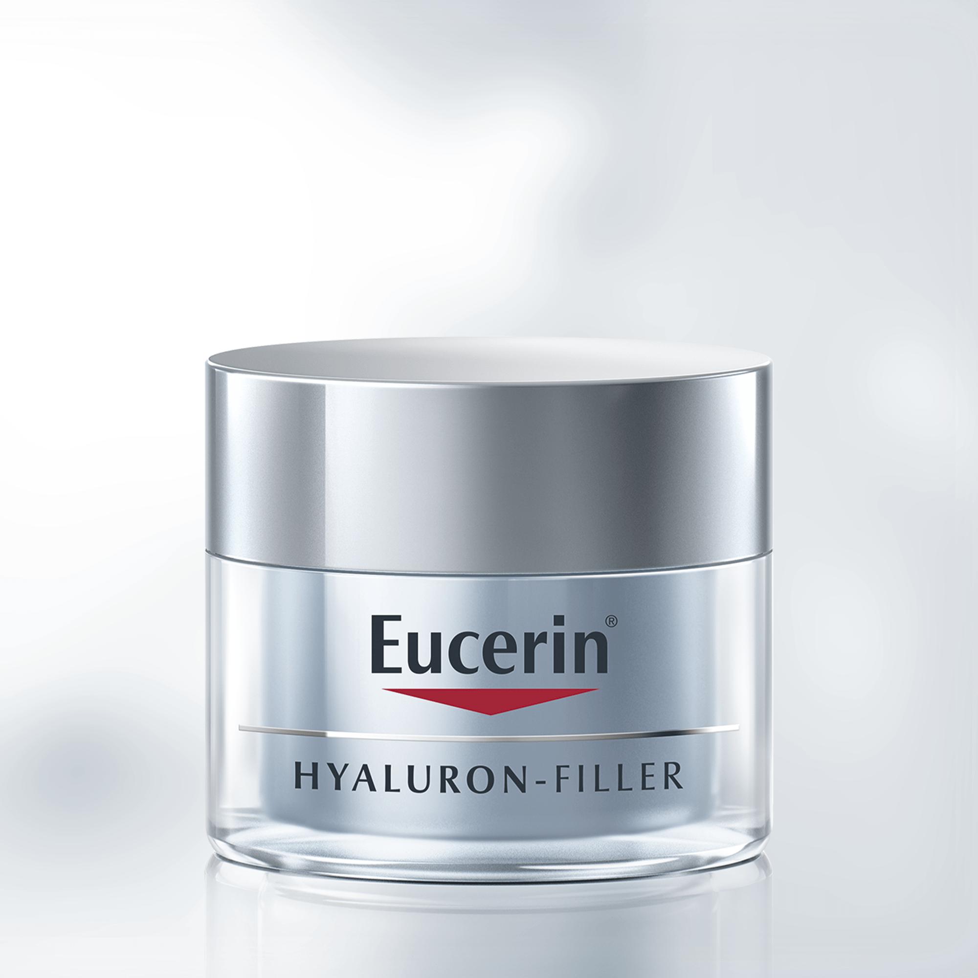Hyaluron-Filler Night - Anti-aging night cream - Eucerin
