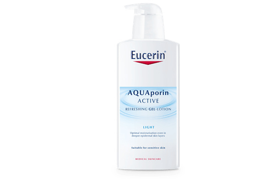 Eucerin AQUAporin ACTIVE Refreshing Gel-Lotion Light