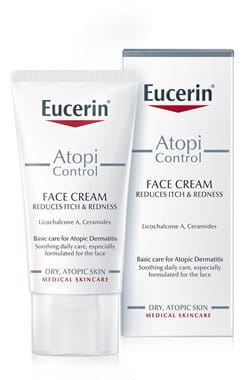 Cream for eczema on the face