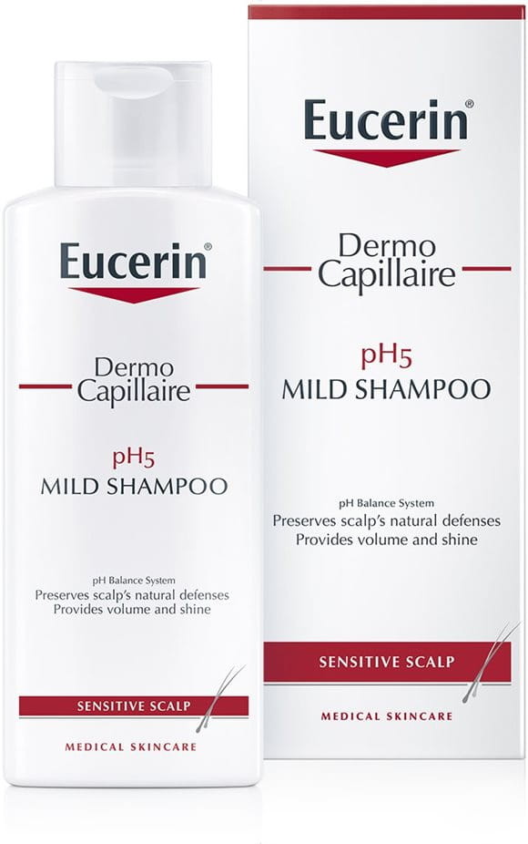 DermoCapillaire pH5 Mild Shampoo Ι Sensitive scalp | Eucerin