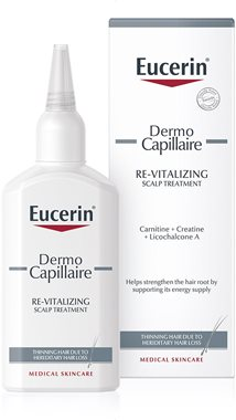 Eucerin DermoCapillaire hair treatment for thinning hair