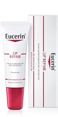Eucerin Lip Repair lip balm for dry cracked lips