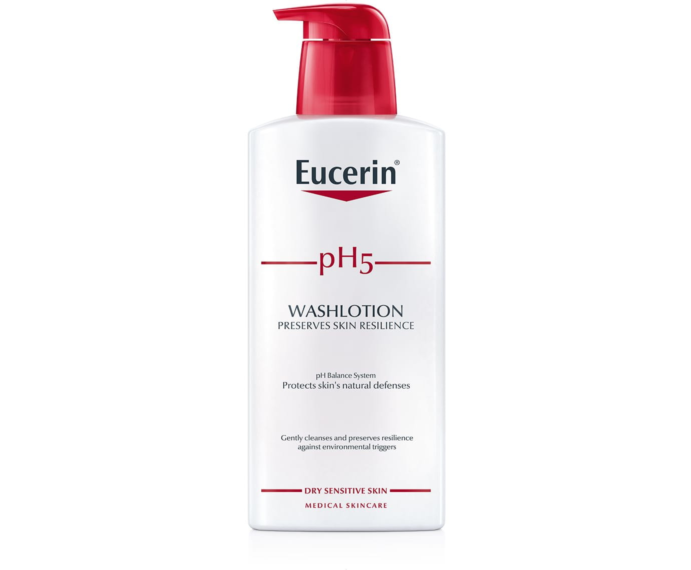 Ph5 Washlotion Cleanser For Dry Sensitive Skin Eucerin