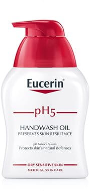 Hand wash for sensitive skin
