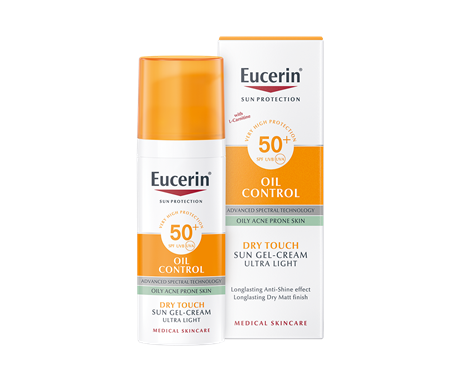 Eucerin facial sunscreen for oily, acne-prone skin
