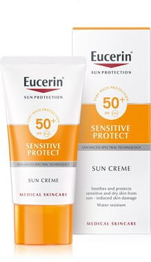 Eucerin sunscreen for dry, sensitive skin face