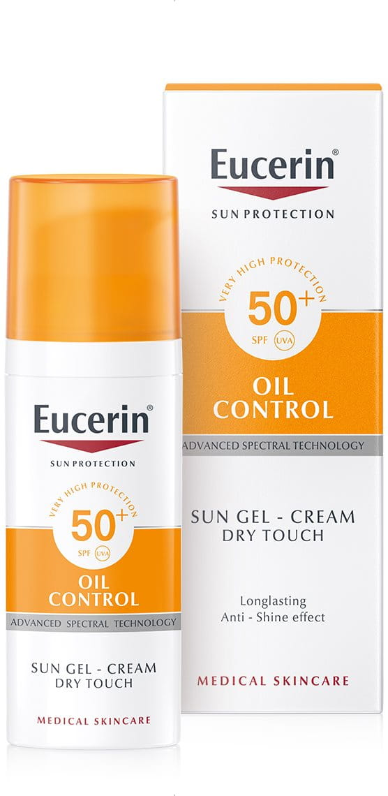 Sun Gel-Cream Oil Control SPF 50+ | sunscreen for oily