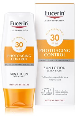 5450f29d9f54 Anti-age sunscreen lotion for the body that protects from photoaging
