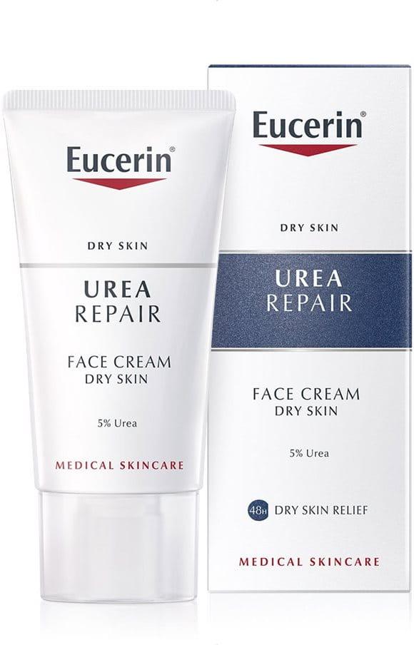 Eucerin: Urea | UREA REPAIR Face Cream | Dry Skin