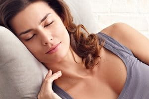 A good night's sleep can help as part of a holistic approach to skin aging.